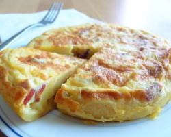 Španělská klasika – TORTILLA DE PATATAS