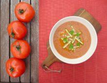 Španělské GAZPACHO: studená rajčatová polévka