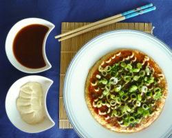 Japonské zelné placky – OKONOMIYAKI