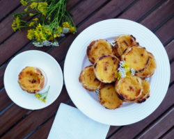 PASTÉIS DE NATA: portugalské košíčky se žloutkovým krémem