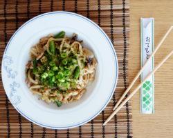 YAKI UDON – japonské smažené udon nudle