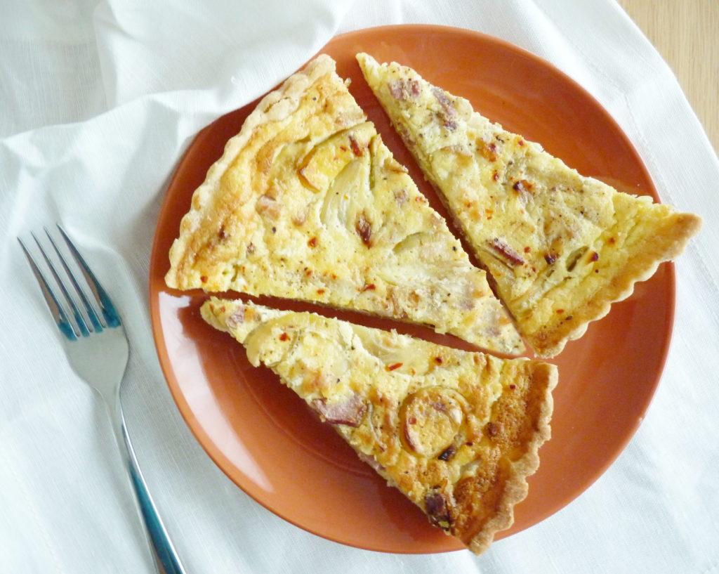 Francouzský quiche lorraine - lotrinský koláč - Ochutnejte svět