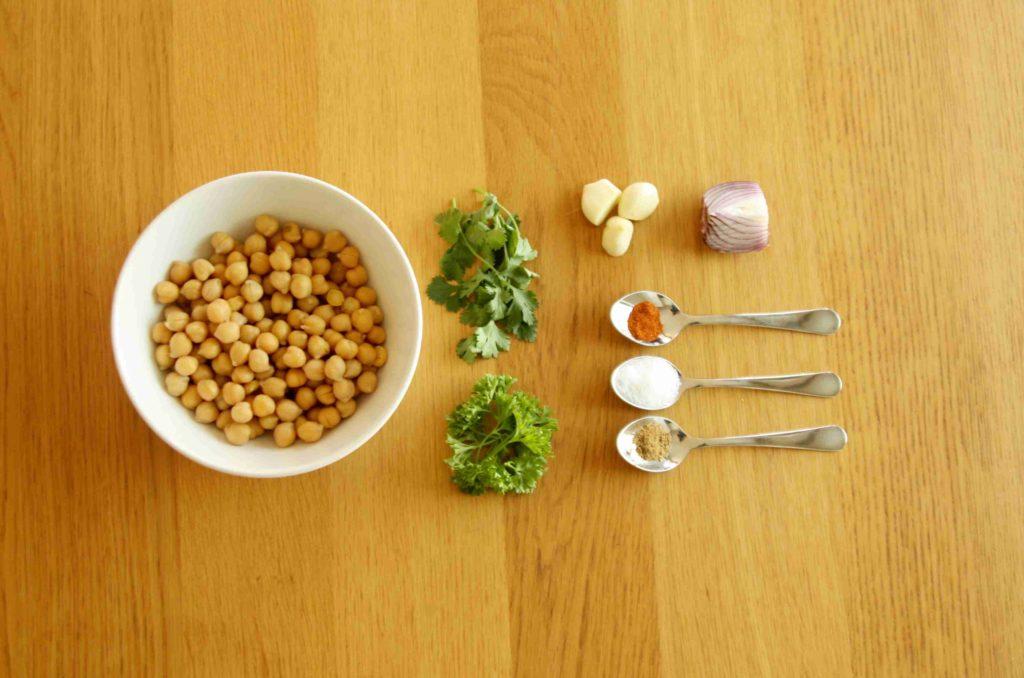 Ingredience na falafel - Ochutnejte svět