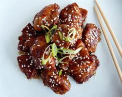 Korejské smažené kuře YANGNYEOM TONGDAK