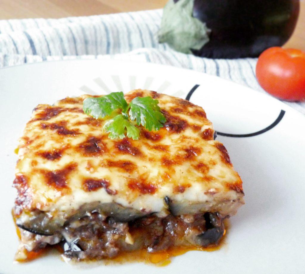 Řecké musaka s lilkem a mletým masem / Ochutnejte svět - blog mezinárodní kuchyně