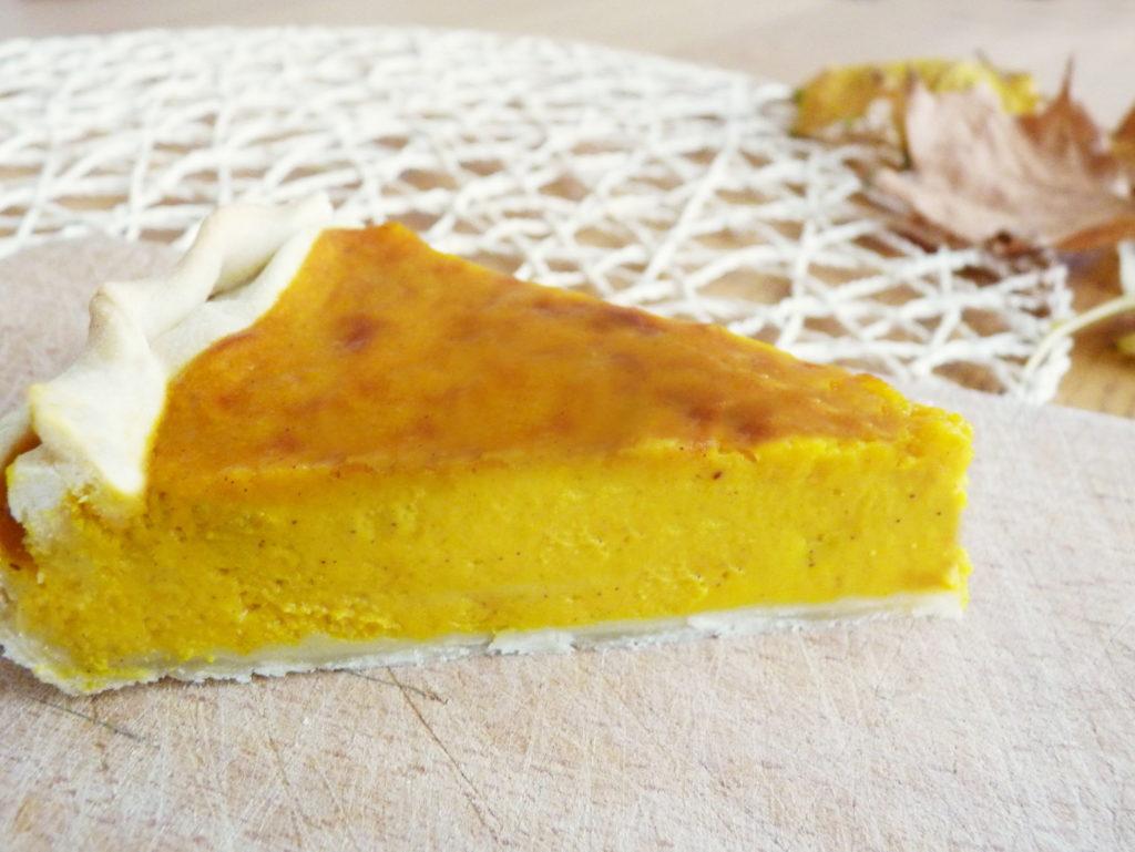 Americký dýňový koláč pumpkin pie - Ochutnejte svět