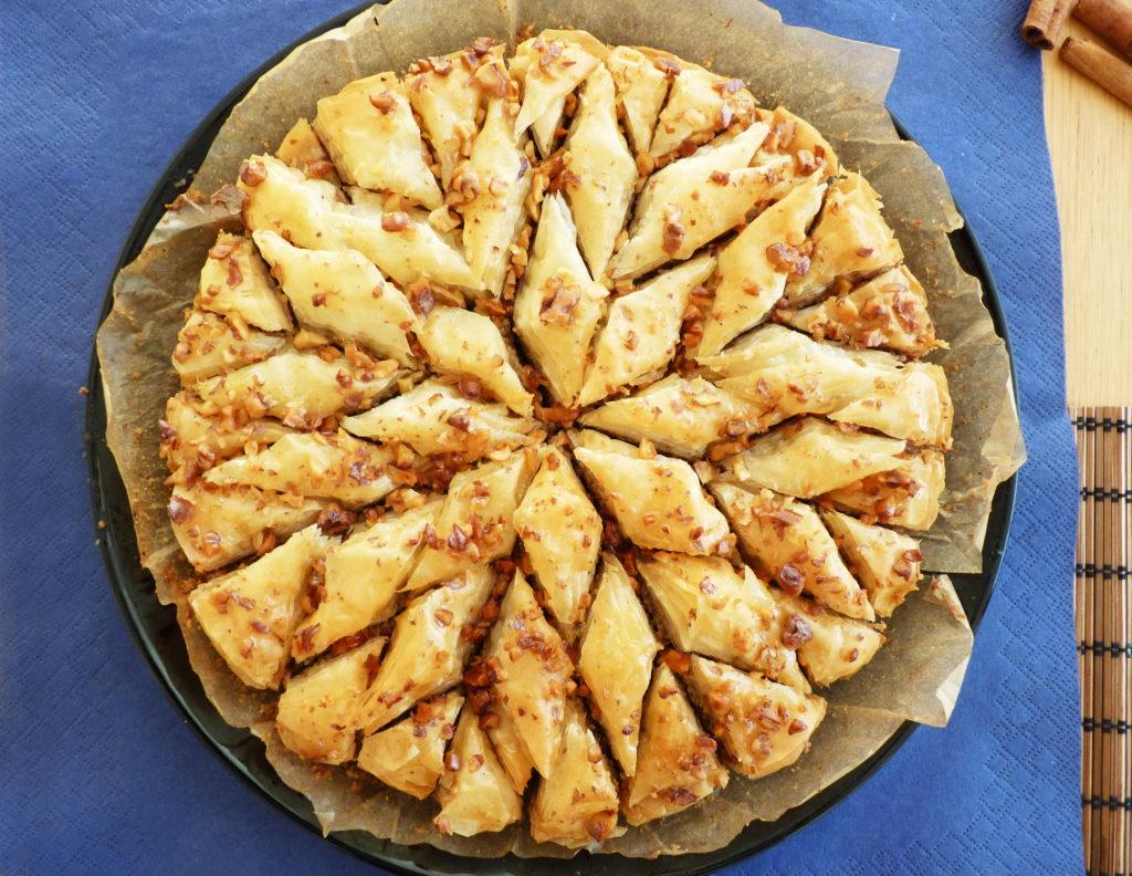 Turecká baklava s ořechy a medem - Ochutnejte svět