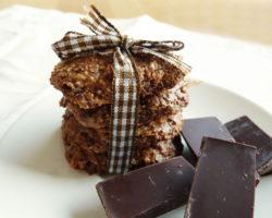 Švýcarské čokoládové sušenky BASLER BRUNSLI