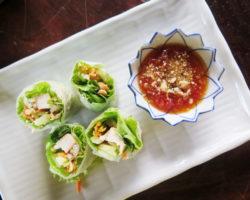 Thajské letní salátové závitky PA PIA SOD