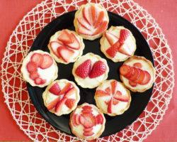 Francouzské TARTALETKY s krémem a ovocem