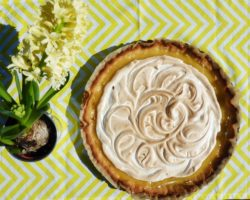 Francouzský citronový koláč se sněhem – TARTE AU CITRON MÉRINGUÉE