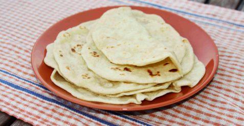 Domácí pšeničná TORTILLA