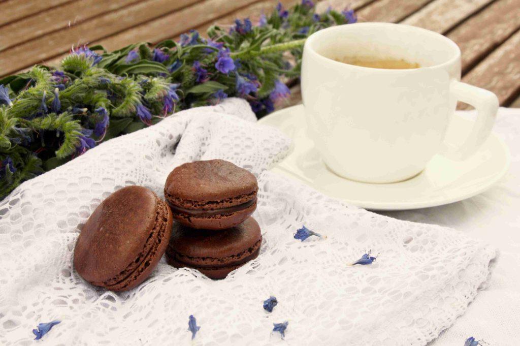 Čokoládové makronky - Ochutnejte svět