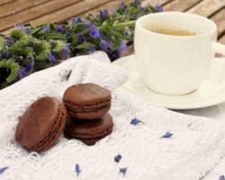 Francouzské čokoládové MAKRONKY: Macarons au chocolat