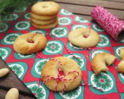 Dánské máslové sušenky s vanilkou VANILJEKRANSE