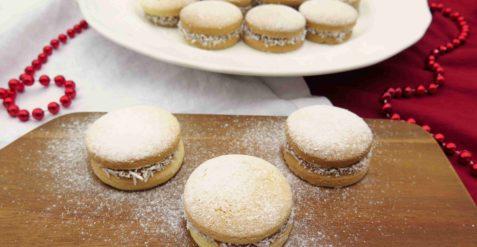 ALFAJORES: Argentinské cukroví s karamelem a kokosem
