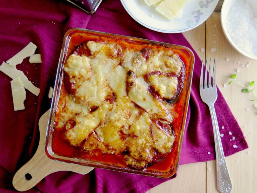 Italská parmigiana: zapečený lilek se sýrem - Ochutnejte svět