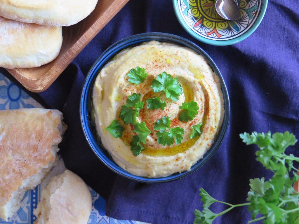 Hummus - cizrnový dip/pomazánka - Ochutnejte svět