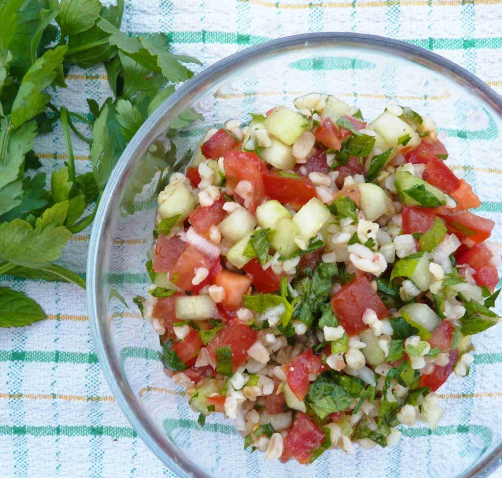 Tabbouleh - libanonský petrželový salát - Ochutnejte svět