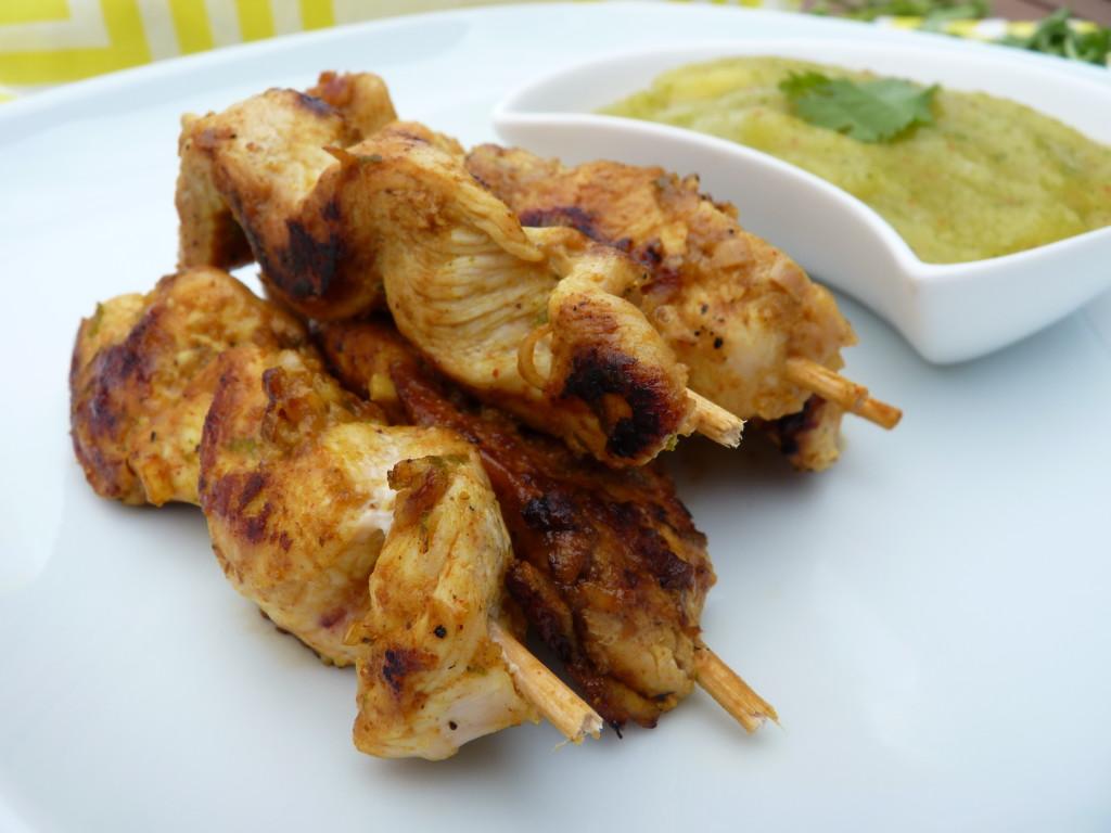 Kambodžské kari kuřecí špíz - Ochutnejte svět