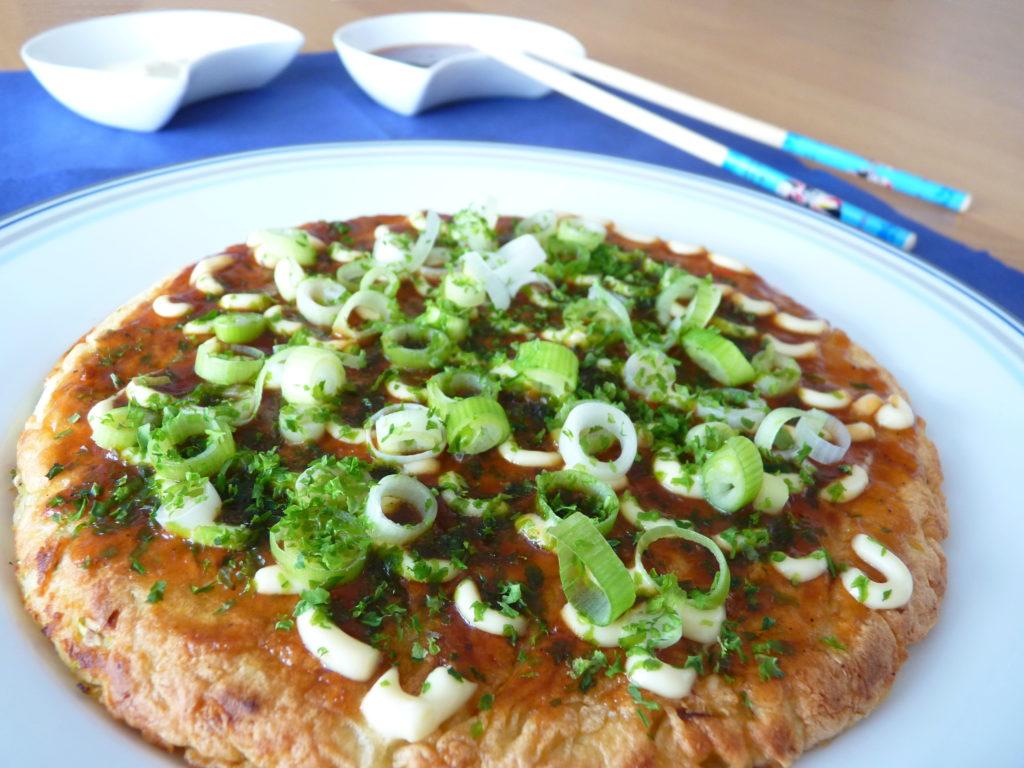 Japonské zelné placky okonomiyaki - Ochutnejte svět