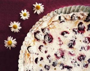 Francouzský třešňový koláč CLAFOUTIS