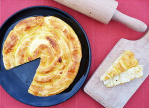 Bulharský slaný koláč s balkánským sýrem BANICA