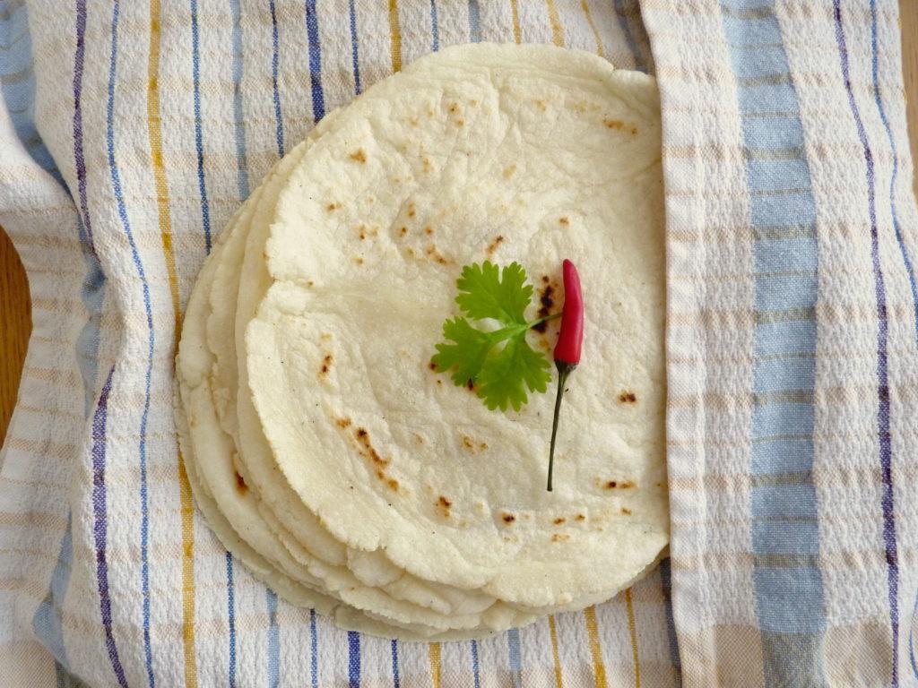 Domácí kukuřičná tortilla - Ochutnejte svět