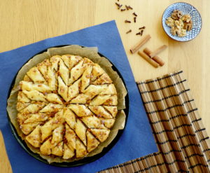 Tradiční turecká BAKLAVA s medem a ořechy