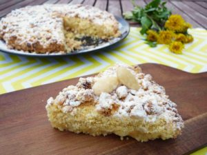 Italský drobenkový koláč TARTA SBRISOLONA