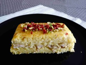 Perská šafránová rýže s kuřetem TANCHIN