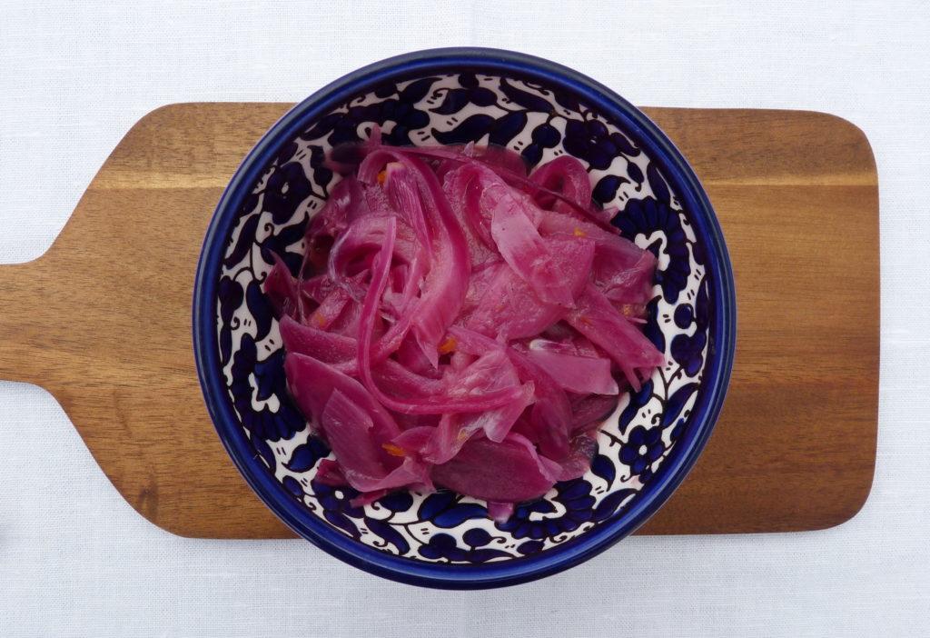 Mexická nakládaná cibule cebolla morada - Ochutnejte svět