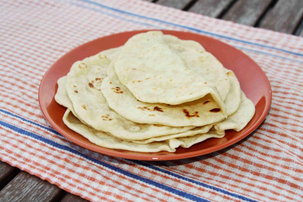 Domácí mexické tortilly z pšeničné mouky - Ochutnejte svět