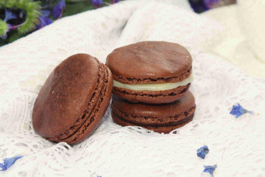 Francouzské makronky s čokoládou - Ochutnejte svět