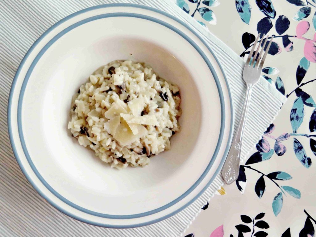 Italské rizoto s houbami - risotto ai funghi - Ochutnejte svět