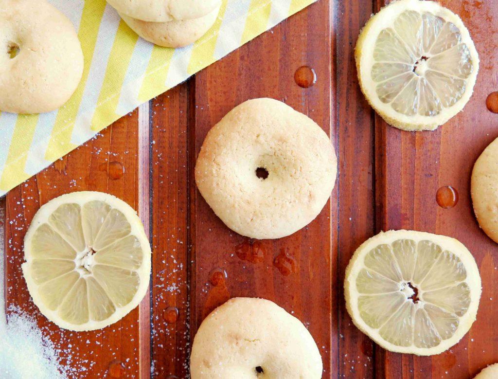 Alžírské citronové sušenky s olivovým olejem - Ochutnejte svět