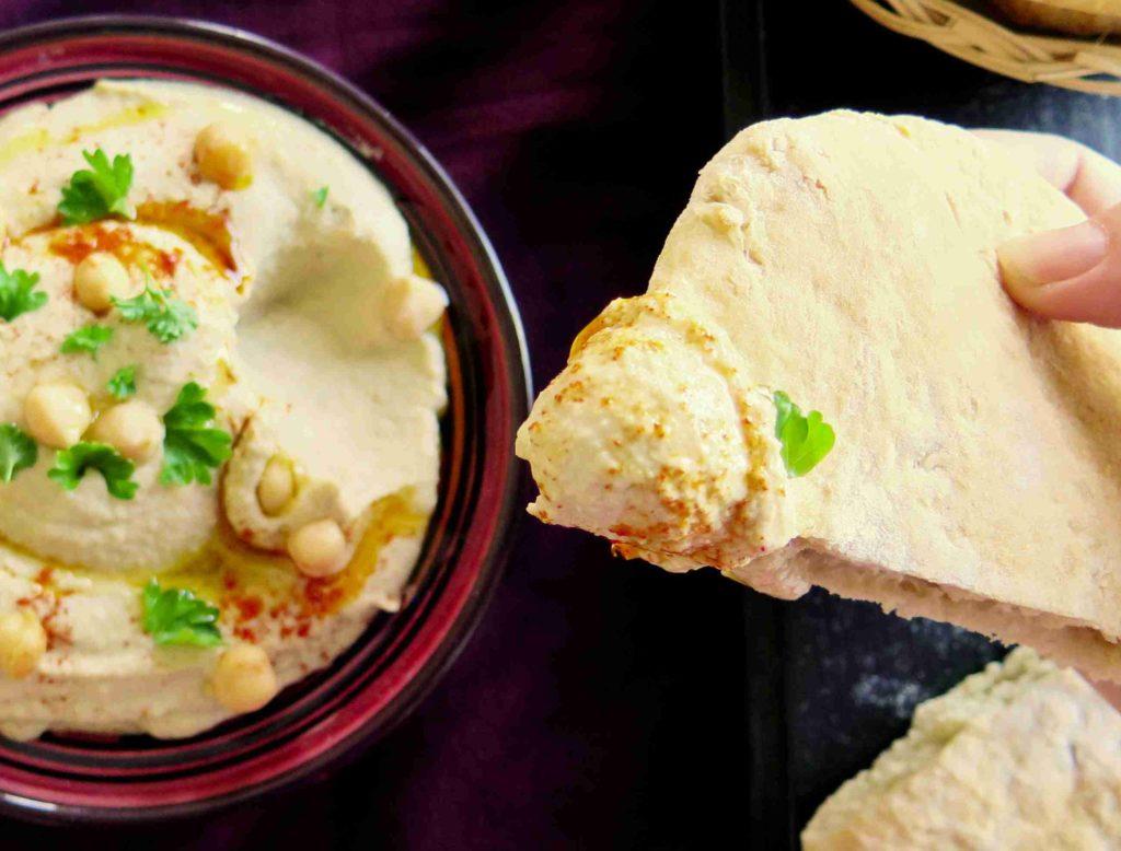 Arabská pita kapsa - Ochutnejte svět