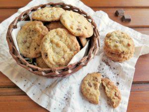 Americké sušenky COOKIES s čokoládou a ořechy