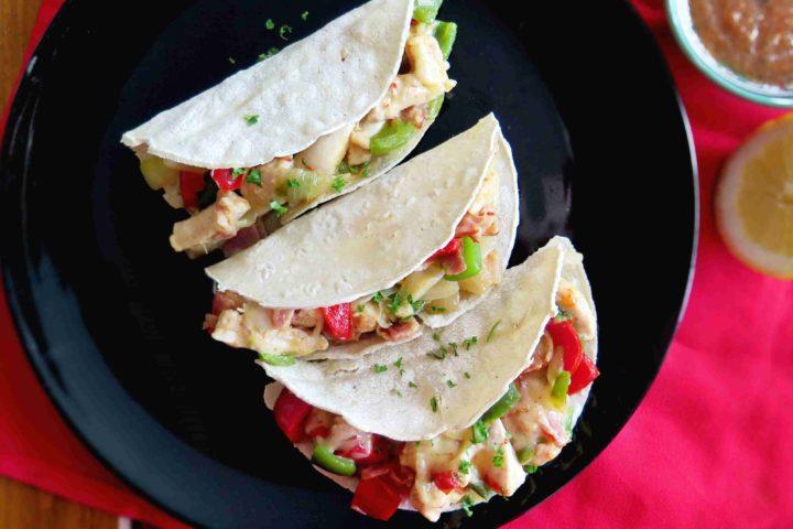 ALAMBRE: Mexické maso se zeleninou a se sýrem