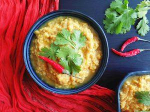 Indický DHAL z červené čočky