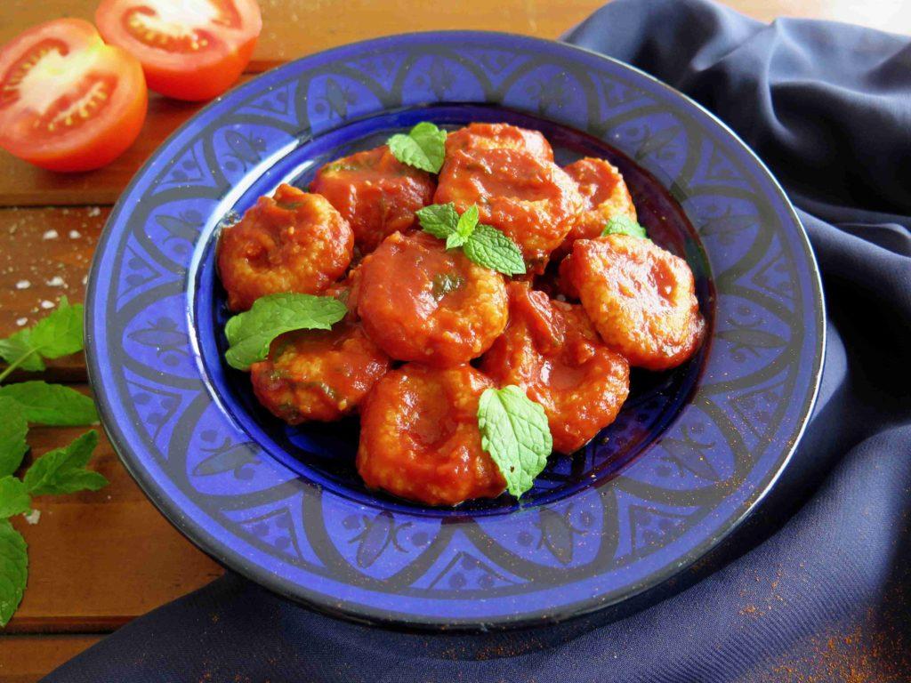 FELLAH KOFTESI: Turecké gnocchi s rajčatovou omáčkou - Ochutnejte svět