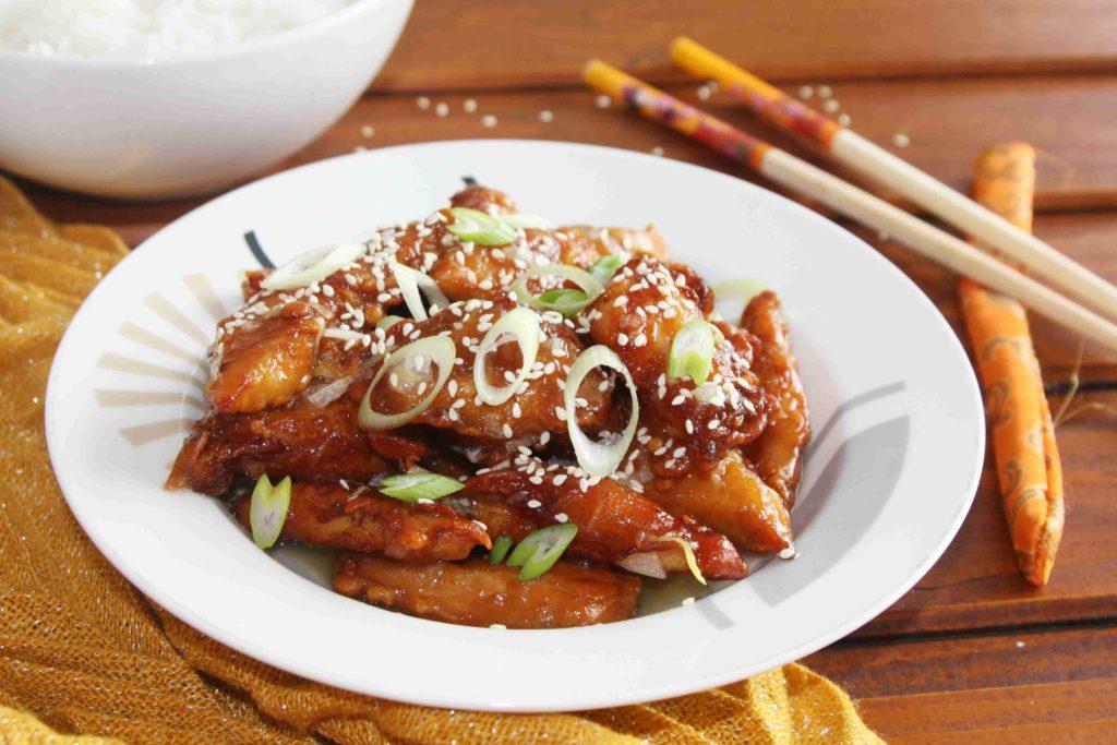 Čínské citronové kuře - lemon chicken - Ochutnejte svět