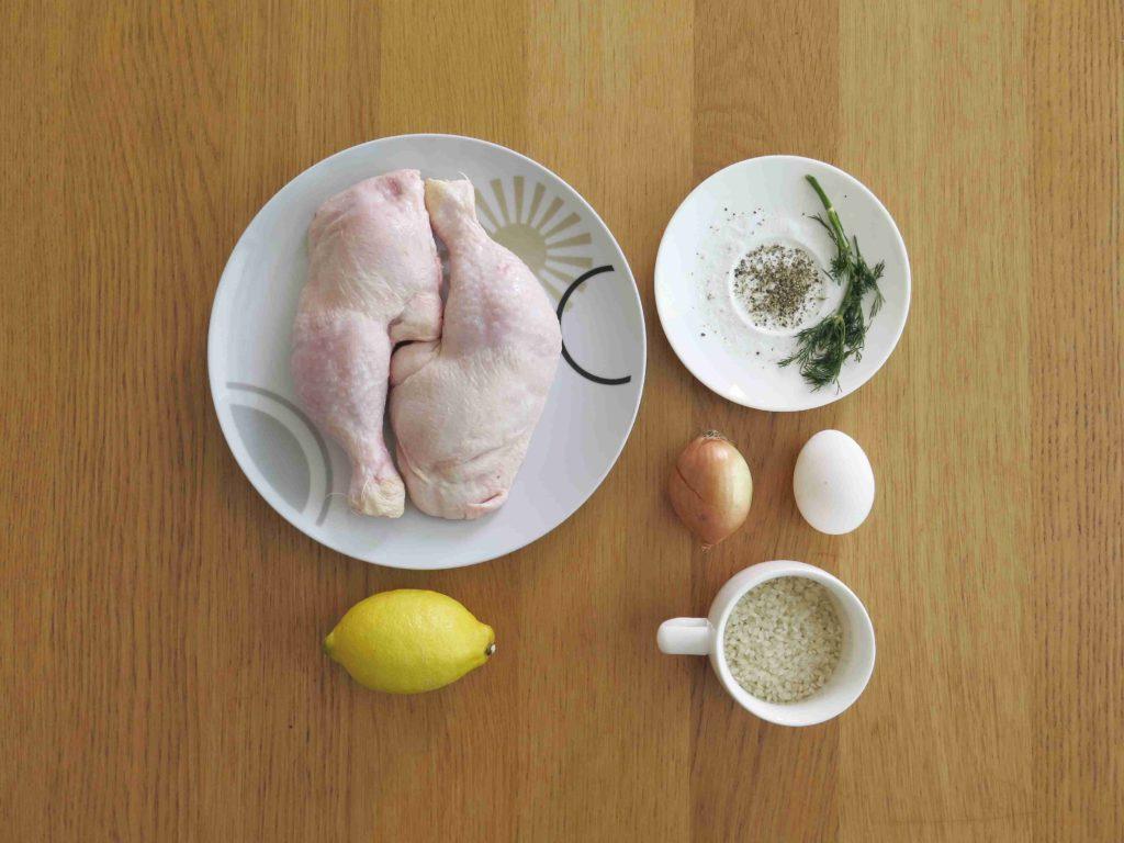 Kotosoupa avgolemono - ingredience - Ochutnejte svět
