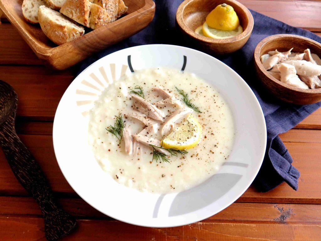 Řecká polévka avgolemono - Ochutnejte svět