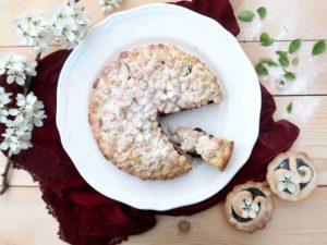 Italská SBRICIOLATA: křupavý drobenkový koláč s náplní