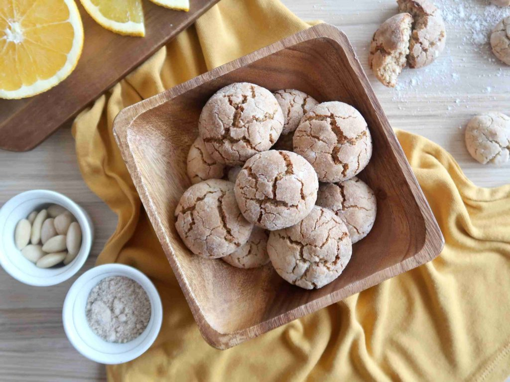 Marocké mandlové sušenky ghriba - Ochutnejte svět