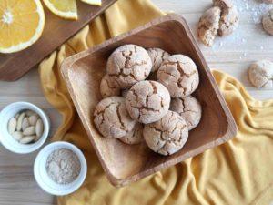 GHRIBA: Marocké mandlové sušenky s pomerančem